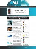Website design # 163291 voor Nieuw uiterlijk voor grootste Android-website van NL en BE wedstrijd