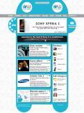 Website design # 162815 voor Nieuw uiterlijk voor grootste Android-website van NL en BE wedstrijd