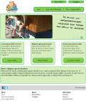 Website design # 296967 voor Ontwerp een vrolijke en kleurrijke website voor een buurt wedstrijd