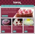 Website design # 151906 voor taartdecoratie barokstijl  wedstrijd