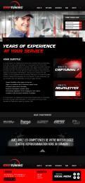 Website design # 426130 voor Website ontwerp chiptuning bedrijf wedstrijd