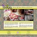Website design # 152647 voor taartdecoratie barokstijl  wedstrijd