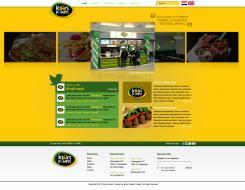 Website design # 181486 voor KING Kumpir website challenge wedstrijd