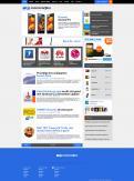 Website design # 161440 voor Nieuw uiterlijk voor grootste Android-website van NL en BE wedstrijd