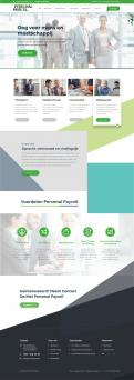 Website design # 946214 voor Redesign van bestaande website payrollorganisatie wedstrijd