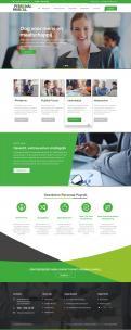 Website design # 945866 voor Redesign van bestaande website payrollorganisatie wedstrijd