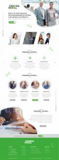 Website design # 953302 voor Redesign van bestaande website payrollorganisatie wedstrijd