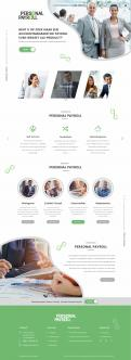 Website design # 953309 voor Redesign van bestaande website payrollorganisatie wedstrijd