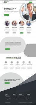Website design # 950108 voor Redesign van bestaande website payrollorganisatie wedstrijd