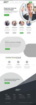 Website design # 950110 voor Redesign van bestaande website payrollorganisatie wedstrijd