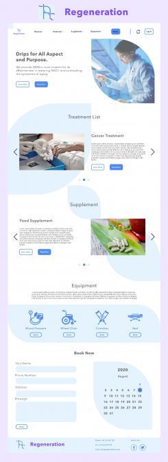 Website design # 1097658 for website design of 5 pages contest