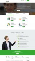 Website design # 942367 voor Redesign van bestaande website payrollorganisatie wedstrijd