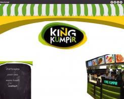 Website design # 178480 voor KING Kumpir website challenge wedstrijd