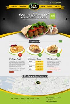 Website design # 182344 voor KING Kumpir website challenge wedstrijd