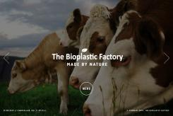 Website design # 435905 voor The Bioplastic Factory..we do good, but we want to do great with our new website! wedstrijd