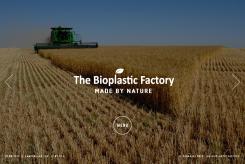Website design # 435906 voor The Bioplastic Factory..we do good, but we want to do great with our new website! wedstrijd
