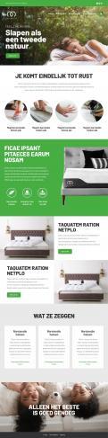 Website design # 1177642 voor Website design matrassen en topdekmatras  alleen branding site  wedstrijd