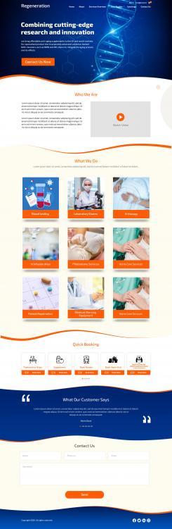 Website design # 1097923 for website design of 5 pages contest
