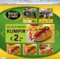 Website design # 176557 voor KING Kumpir website challenge wedstrijd