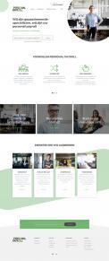 Website design # 947308 voor Redesign van bestaande website payrollorganisatie wedstrijd