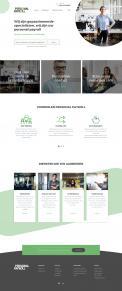 Website design # 950024 voor Redesign van bestaande website payrollorganisatie wedstrijd