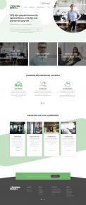Website design # 950025 voor Redesign van bestaande website payrollorganisatie wedstrijd