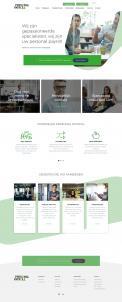 Website design # 945612 voor Redesign van bestaande website payrollorganisatie wedstrijd