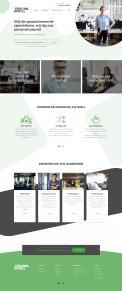 Website design # 950026 voor Redesign van bestaande website payrollorganisatie wedstrijd