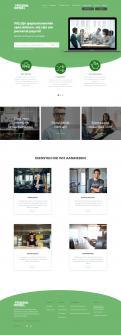 Website design # 945613 voor Redesign van bestaande website payrollorganisatie wedstrijd