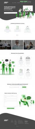 Website design # 945614 voor Redesign van bestaande website payrollorganisatie wedstrijd
