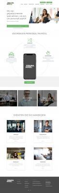 Website design # 946017 voor Redesign van bestaande website payrollorganisatie wedstrijd