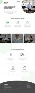 Website design # 946018 voor Redesign van bestaande website payrollorganisatie wedstrijd