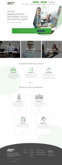 Website design # 947258 voor Redesign van bestaande website payrollorganisatie wedstrijd