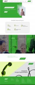 Website design # 943040 voor Redesign van bestaande website payrollorganisatie wedstrijd