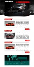 Website design # 425090 voor Website ontwerp chiptuning bedrijf wedstrijd