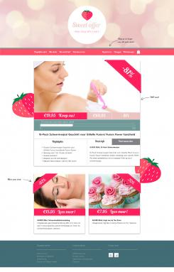 Website design # 305805 voor Nieuw design voor Dagaanbieder wedstrijd
