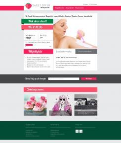 Website design # 305626 voor Nieuw design voor Dagaanbieder wedstrijd
