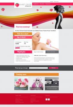 Website design # 305747 voor Nieuw design voor Dagaanbieder wedstrijd