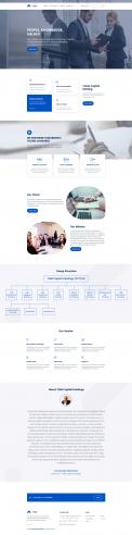 Website design # 1083083 for Design a Brand New and Modern Website contest
