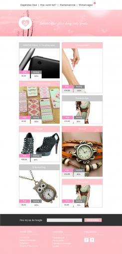 Website design # 305729 voor Nieuw design voor Dagaanbieder wedstrijd