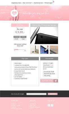Website design # 305730 voor Nieuw design voor Dagaanbieder wedstrijd