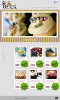 Website design # 154762 voor website voor Baroq Cakeboutique wedstrijd