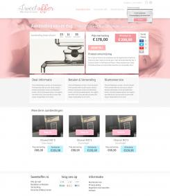 Website design # 308424 voor Nieuw design voor Dagaanbieder wedstrijd