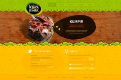 Website design # 177716 voor KING Kumpir website challenge wedstrijd