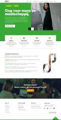 Website design # 943716 voor Redesign van bestaande website payrollorganisatie wedstrijd