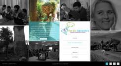 Website design # 370246 voor Internationale consultancy website met veel foto's en toch een professionele uitstraling wedstrijd
