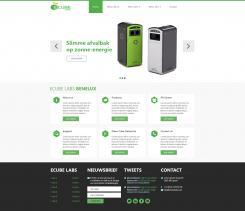 Webpagina design # 349120 voor Ecube Labs Benelux wedstrijd