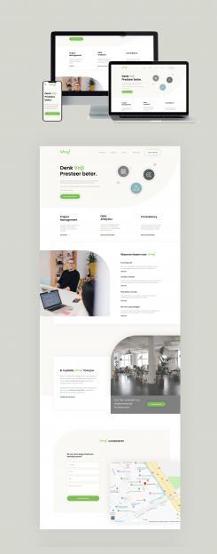 Website design # 990848 voor Vrij goede Consultants zoeken heel goed website ontwerp wedstrijd