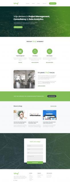 Website design # 989807 voor Vrij goede Consultants zoeken heel goed website ontwerp wedstrijd