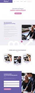 Website design # 1075409 voor Help mij aan een flitsende start als ondernemer! wedstrijd